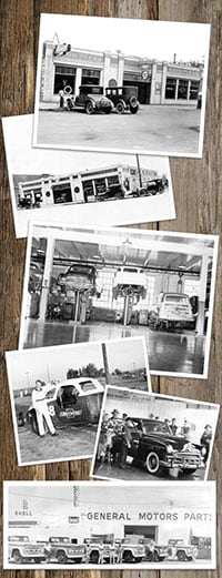 Historical photos of Speck Motors in Sunnyside