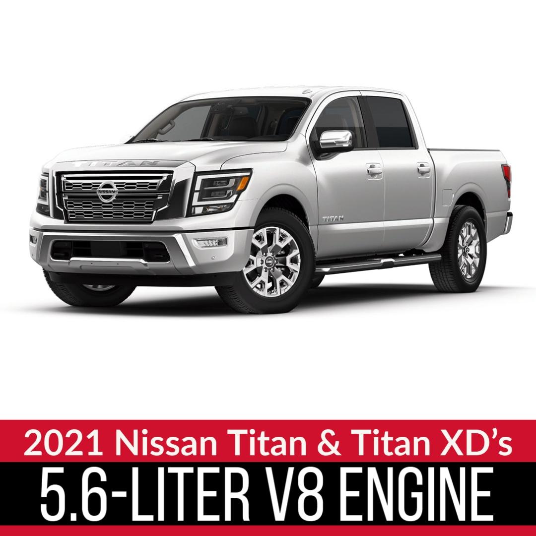 2021 Nissan Titan in White