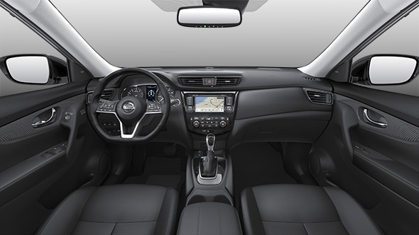 New 2020 Nissan Rogue interior