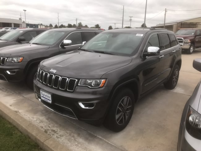 New 2019 Jeep Grand Cherokee LIMITED 4X4 Sport Utility for sale near Jefferson City, MO