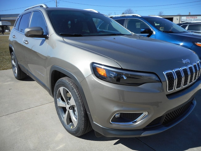 New 2019 Jeep Cherokee LIMITED FWD Sport Utility for sale near Jefferson City, MO