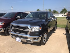 New 2019 Ram 1500 BIG HORN / LONE STAR CREW CAB 4X4 5'7 BOX Crew Cab 1C6SRFFT9KN606509 near Jefferson City, MO