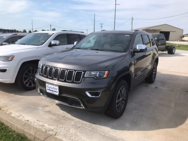 New 2018 Jeep Grand Cherokee LIMITED 4X4 Sport Utility for sale near Jefferson City, MO