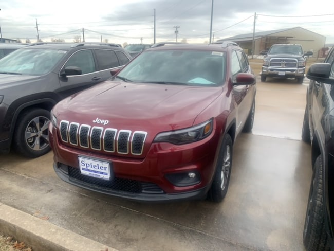 New 2019 Jeep Cherokee LATITUDE PLUS 4X4 Sport Utility for sale near Jefferson City, MO