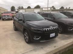 New 2019 Jeep Cherokee LIMITED 4X4 Sport Utility 1C4PJMDX5KD276843 near Jefferson City, MO