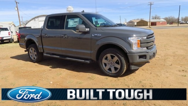 New 2018 ford f 150 lariat supercrew lamesa