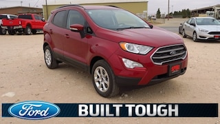 New 2018 Ford EcoSport SE SUV Near Lubbock