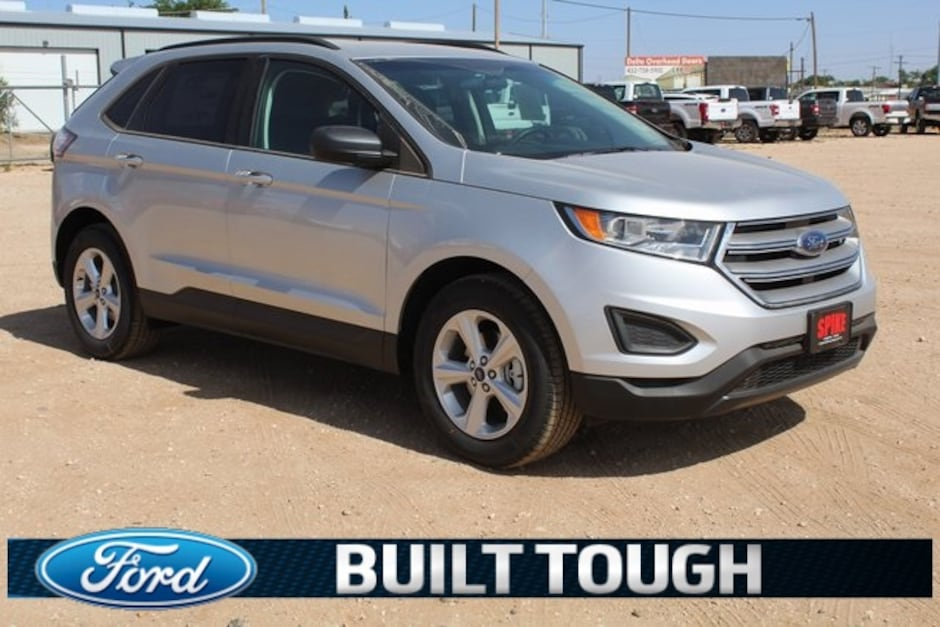 New 2018 Ford Edge SE SUV Lamesa