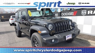 New 2018 Jeep Wrangler UNLIMITED SPORT 4X4 Sport Utility 1C4HJXDG8JW141025 in Swedesboro New Jersey
