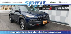 Used 2018 Jeep Cherokee Trailhawk 4x4 SUV in Swedesboro New Jersey