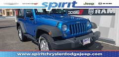Certified Pre-Owned 2015 Jeep Wrangler Sport 4x4 SUV in Swedesboro New Jersey