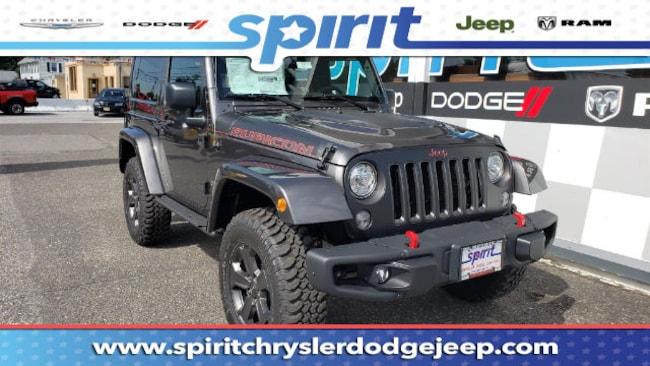 New 2018 Jeep Wrangler JK RUBICON RECON 4X4 Sport Utility For Sale/Lease Swedesboro, NJ