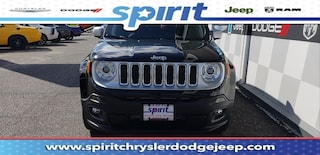 New 2018 Jeep Renegade LIMITED 4X4 Sport Utility in Swedesboro New Jersey