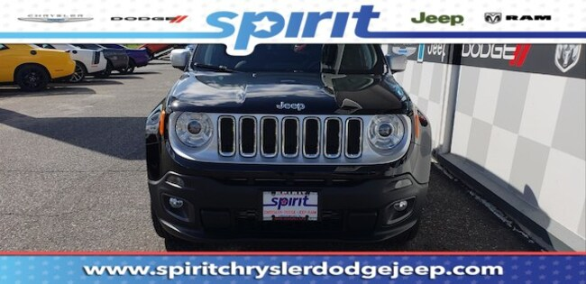 New 2018 Jeep Renegade LIMITED 4X4 Sport Utility For Sale/Lease Swedesboro, NJ