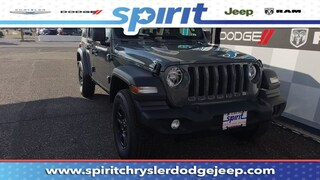 New 2018 Jeep Wrangler UNLIMITED SPORT 4X4 Sport Utility 1C4HJXDN4JW248894 in Swedesboro New Jersey