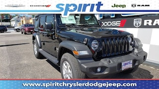 New 2018 Jeep Wrangler UNLIMITED SPORT S 4X4 Sport Utility 1C4HJXDG3JW188009 in Swedesboro New Jersey