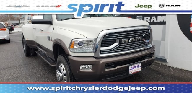New 2018 Ram 3500 LARAMIE LONGHORN CREW CAB 4X4 8' BOX Crew Cab For Sale/Lease Swedesboro, NJ