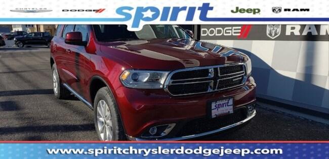 New 2019 Dodge Durango SXT PLUS AWD Sport Utility For Sale/Lease Swedesboro, NJ