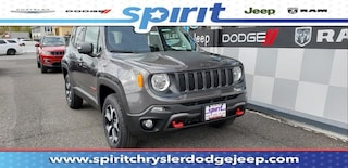 New 2019 Jeep Renegade TRAILHAWK 4X4 Sport Utility ZACNJBC16KPK05769 in Swedesboro New Jersey