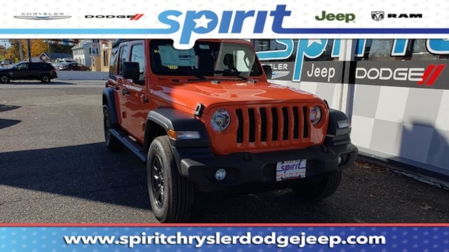 New 2018 Jeep Wrangler UNLIMITED SPORT 4X4 Sport Utility For Sale/Lease Swedesboro, NJ