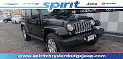 Certified Pre-Owned 2017 Jeep Wrangler JK Unlimited Sahara 4x4 SUV in Swedesboro New Jersey