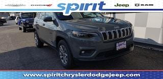 New 2019 Jeep Cherokee LATITUDE PLUS 4X4 Sport Utility 1C4PJMLB0KD367301 in Swedesboro New Jersey