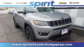 New 2019 Jeep Compass ALTITUDE 4X4 Sport Utility 3C4NJDBB7KT683913 in Swedesboro New Jersey