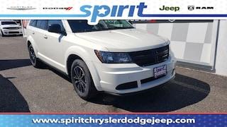 New 2018 Dodge Journey SE Sport Utility 3C4PDCABXJT535944 in Swedesboro New Jersey