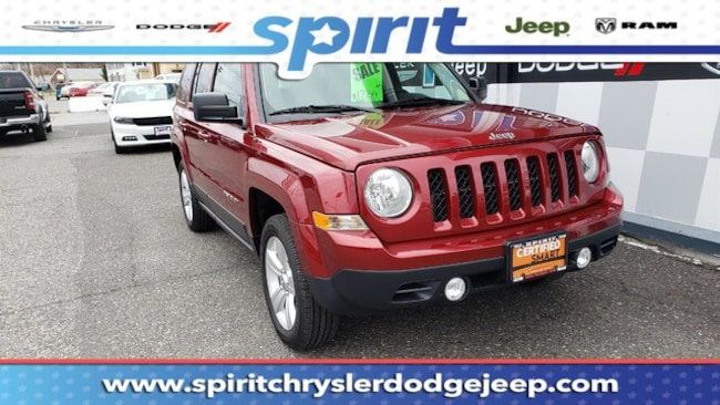 Certified Used 2016 Jeep Patriot Latitude 4x4 SUV Swedesboro