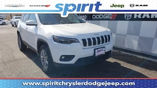 New 2019 Jeep Cherokee LATITUDE PLUS 4X4 Sport Utility 1C4PJMLBXKD397387 in Swedesboro New Jersey