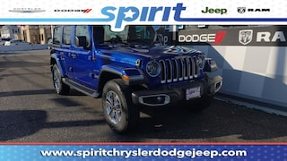 New 2018 Jeep Wrangler UNLIMITED SAHARA 4X4 Sport Utility 1C4HJXEG0JW289376 in Swedesboro New Jersey