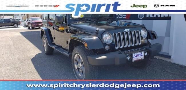 New 2018 Jeep Wrangler Unlimited WRANGLER JK UNLIMITED SAHARA 4X4 Sport Utility For Sale/Lease Swedesboro, NJ
