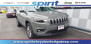 New 2019 Jeep Cherokee LATITUDE PLUS 4X4 Sport Utility 1C4PJMLBXKD447852 in Swedesboro New Jersey