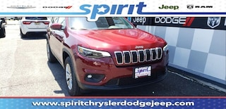 New 2019 Jeep Cherokee LATITUDE PLUS 4X4 Sport Utility 1C4PJMLB1KD447853 in Swedesboro New Jersey