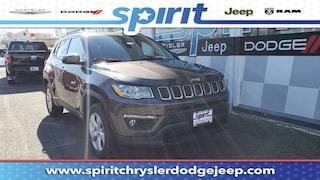 New 2019 Jeep Compass LATITUDE 4X4 Sport Utility 3C4NJDBB0KT697037 in Swedesboro New Jersey
