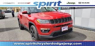 New 2019 Jeep Compass ALTITUDE 4X4 Sport Utility 3C4NJDBB3KT697064 in Swedesboro New Jersey