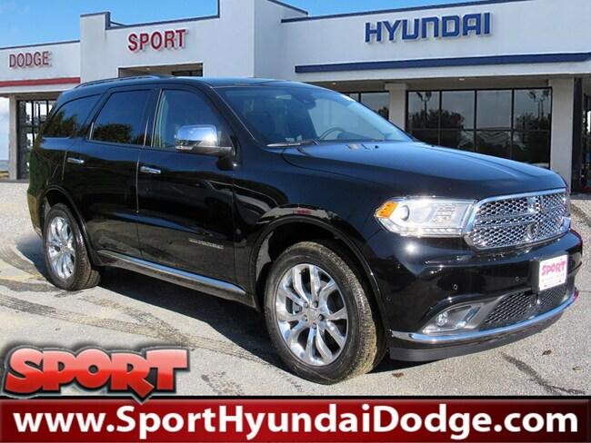 2018 Dodge Durango CITADEL AWD Sport Utility