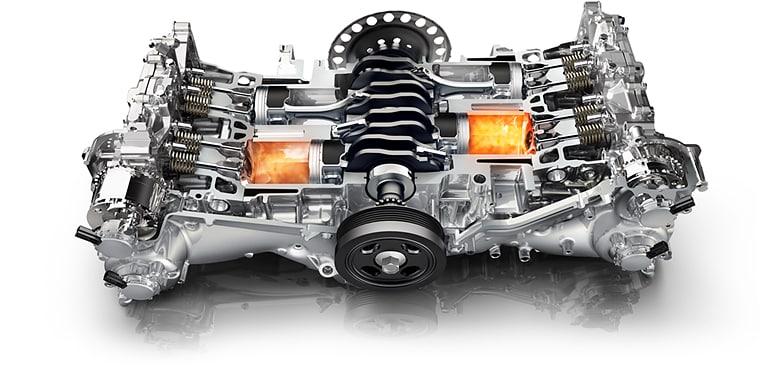the subaru boxer engine