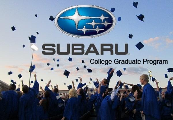 See If You Qualify For Subarus College Graduate Financing Program - Subaru graduate program