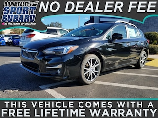 New 2018 Subaru Impreza 2.0i Limited with EyeSight, Moonroof, Blind Spot Detection & Starlink 5-door 4S3GTAT69J3719789 in Orlando FL