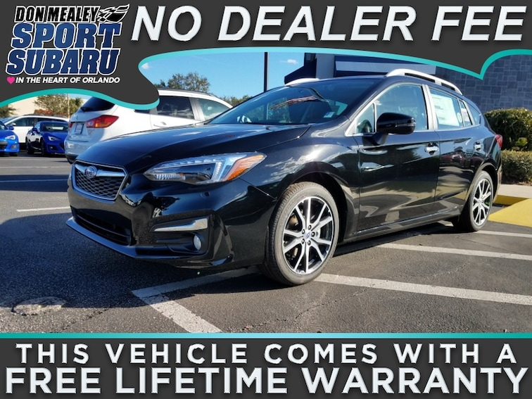 New 2018 Subaru Impreza 2.0i Limited with EyeSight, Moonroof, Blind Spot Detection & Starlink 5-door at Sport Subaru in Orlando FL