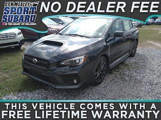 New 2018 Subaru WRX Limited with Navigation System, Harman Kardon Amplifier & Speakers, Rear Cross Traffic Alert, and Starlink Sedan JF1VA1H63J9838768 in Orlando FL