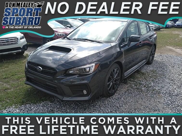 New 2018 Subaru WRX Limited with Navigation System, Harman Kardon Amplifier & Speakers, Rear Cross Traffic Alert, and Starlink Sedan at Sport Subaru in Orlando FL