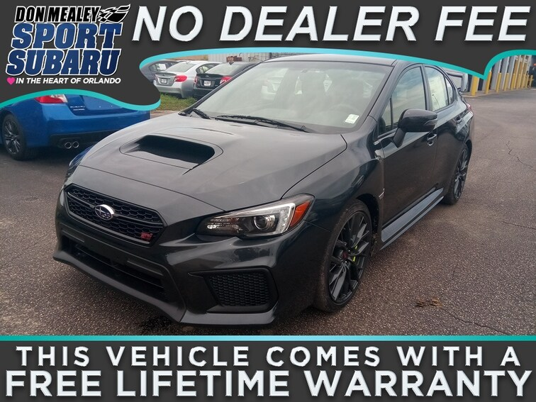 New 2018 Subaru WRX STI Sedan at Sport Subaru in Orlando FL