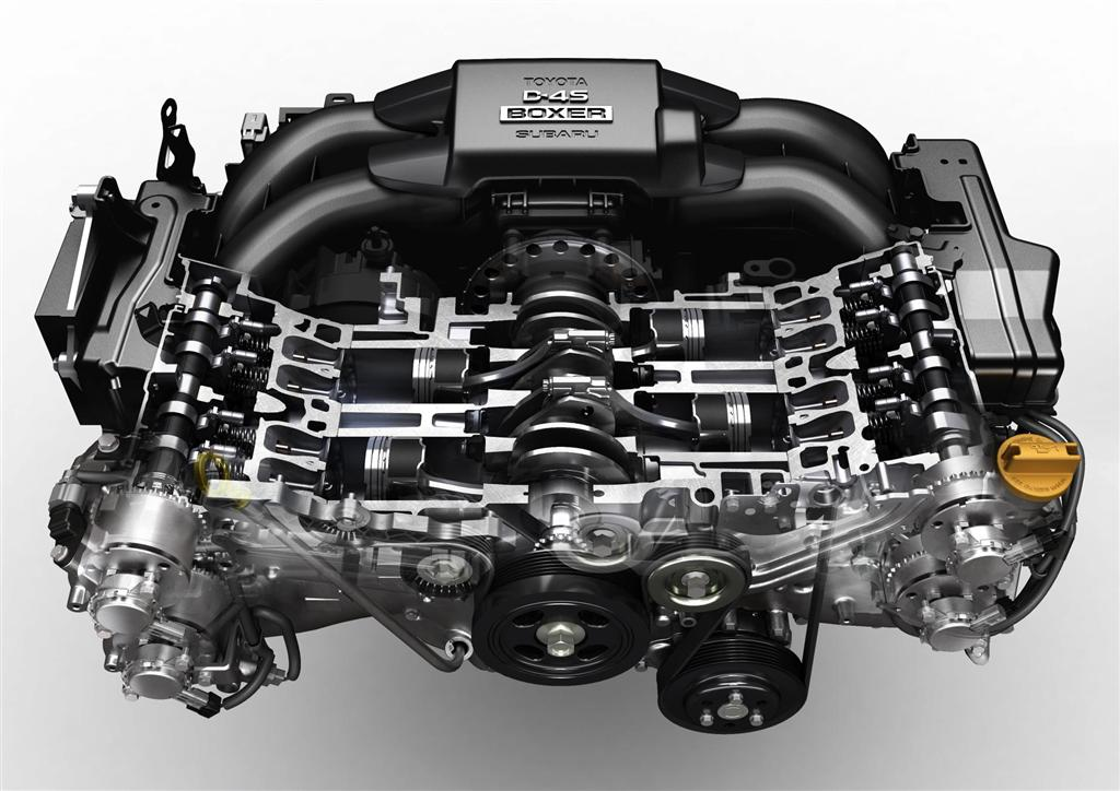 Subaru Boxer Engine >> Subaru Brz S Fa20 Boxer Engine Named To Ward S 10 Best Engines
