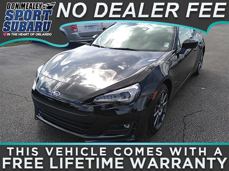 New 2018 Subaru BRZ Limited with Performance Package Coupe at Sport Subaru in Orlando FL
