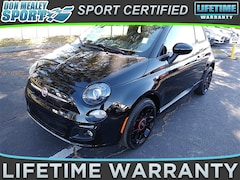 Bargain Used 2015 FIAT 500 Sport Hatchback under $12,000 for Sale in Orlando
