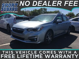 New 2018 Subaru Impreza 2.0i Limited with EyeSight, Moonroof, Navigation, Blind Spot Detection & Starlink 5-door 4S3GTAU66J3730196 in Orlando FL