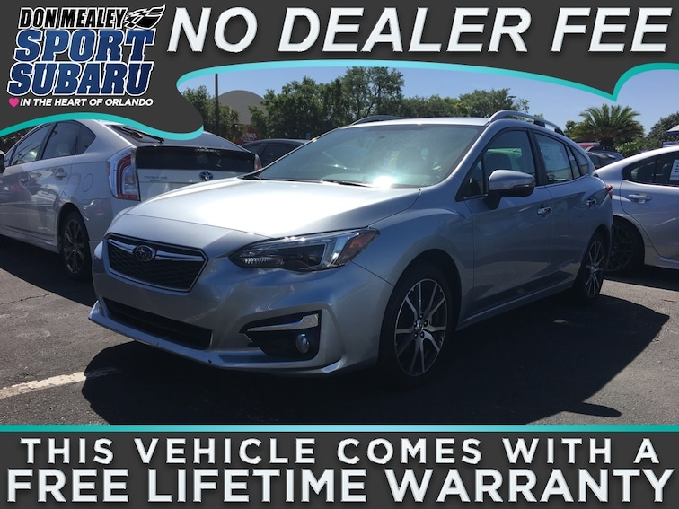 New 2018 Subaru Impreza 2.0i Limited with EyeSight, Moonroof, Navigation, Blind Spot Detection & Starlink 5-door at Sport Subaru in Orlando FL