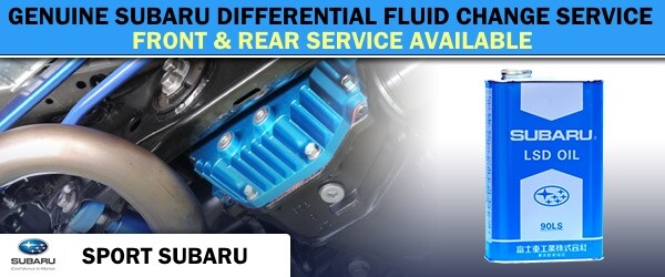 Subaru Differential Fluid Change | Sport Subaru